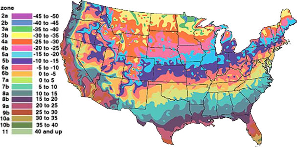 The Maps Below Show Revisions In The Plant Hardiness Zones Between 1990 And  2006. Thanks To The National Arbor Day Foundation For This.